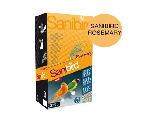 "Наполнитель ""SANIBIRD ROSEMARY"" Песок для птиц Розмарин 375гр."