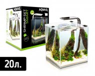 "Аквариум AQUA EL ""SHRIMP SET SMART LED PLANT"" 20 / ЧЕРНЫЙ  (20 л)"