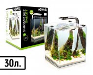 "Аквариум AQUA EL ""SHRIMP SET SMART LED PLANT"" 30 / БЕЛЫЙ  (30 л)"